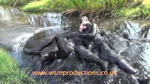 CUSTARD COUPLE unforgettable couple mud fun play