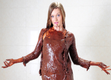 Honour May becomes a chocolate maid of honour