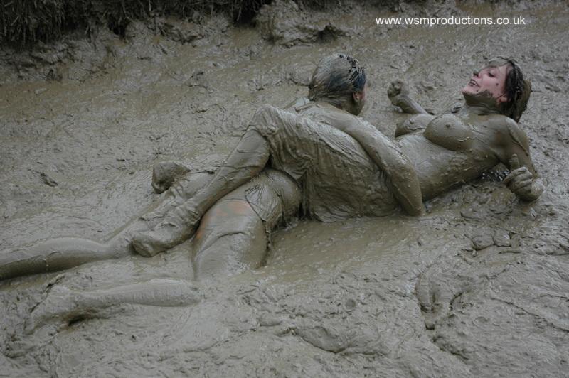 Musical Bikini and mud wrestling