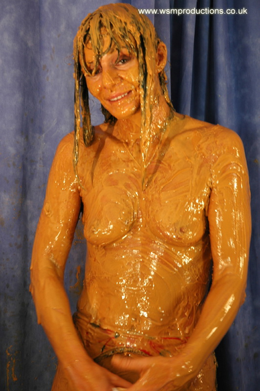 In peanut girl butter Nude covered